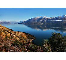 """lake wanaka""   south island,new zealand Photographic Print"