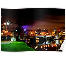 Yarra By Night Poster