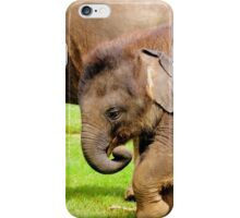 Stomping Baby Elephant iPhone Case/Skin