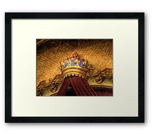 Crown - The State Theatre, Sydney,Australia - The HDR Experience Framed Print