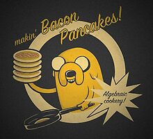 Bacon Pancakes - JTDogzone by Optimistic  Sammich