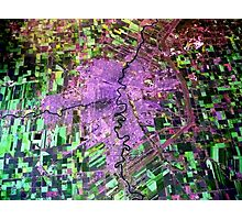 Aerial View of Winnipeg, Manitoba, Canada Photographic Print