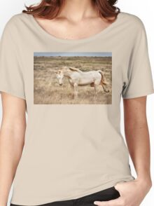 Cremello unicorn Women's Relaxed Fit T-Shirt