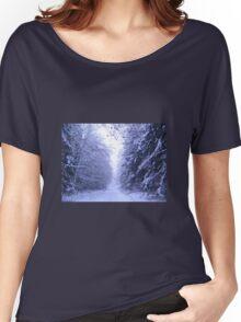 Bavarian Winter Forest  Women's Relaxed Fit T-Shirt