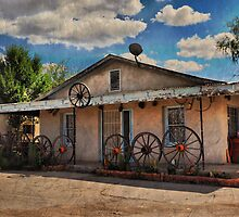 Wagon Wheel Home by Barbara Manis
