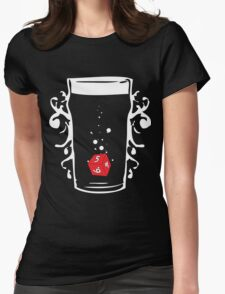 Poured Games (white) - Beer and Board Games T-Shirt