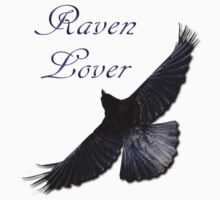 Raven Lover T-Shirt Design by Skye Ryan-Evans