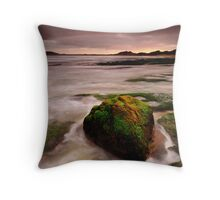 The Paddle Out Rock Throw Pillow