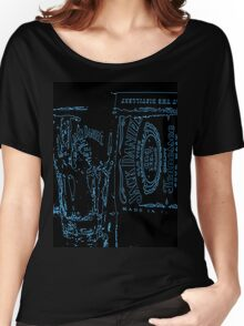 Neon JD old no7  Women's Relaxed Fit T-Shirt