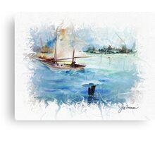 On Sail Canvas Print