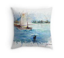 On Sail Throw Pillow