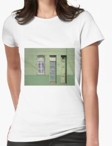 Next door to Ernies  Womens Fitted T-Shirt