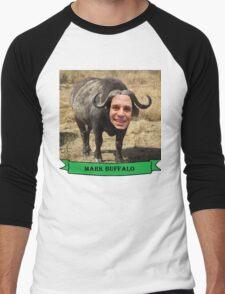 Mark Ruffalo the Buffalo Men's Baseball ¾ T-Shirt