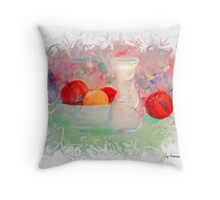 Fruit Siesta Throw Pillow