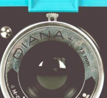 Diana Lomography Sticker