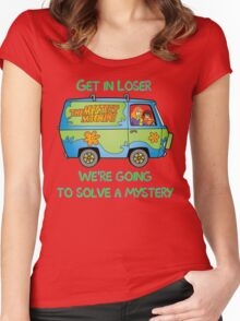 Mean Mystery Girls Women's Fitted Scoop T-Shirt