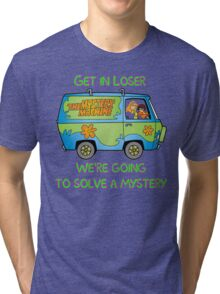 Mean Mystery Girls Tri-blend T-Shirt