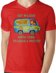 Mean Mystery Girls Mens V-Neck T-Shirt