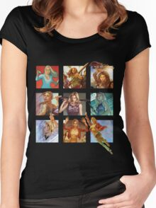 Buffy the Vampire Slayer Women's Fitted Scoop T-Shirt