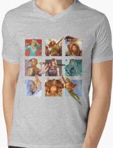 Buffy the Vampire Slayer Mens V-Neck T-Shirt