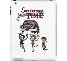 Supernatural Time iPad Case/Skin