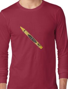 Buffy the Vampire Slayer - Yellow Crayon Long Sleeve T-Shirt
