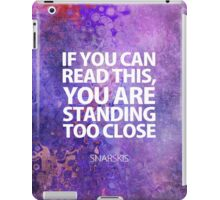 Purple Mood iPad Case/Skin