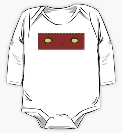Red Robot One Piece - Long Sleeve