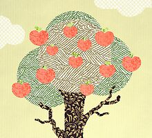 Apple Tree by tiffatron