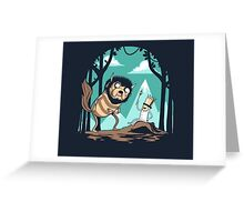 Where the Adventure Times Are  Greeting Card