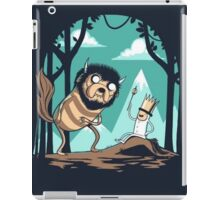 Where the Adventure Times Are  iPad Case/Skin