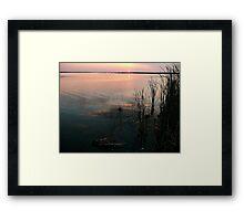Early Morn on the Marsh Framed Print
