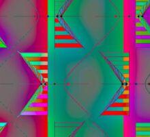 """Hyperbola - GLOWING""© Sticker"