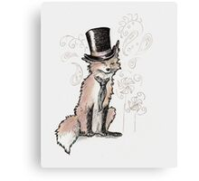 Mr. Fancy Fox Canvas Print