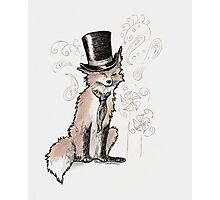 Mr. Fancy Fox Photographic Print