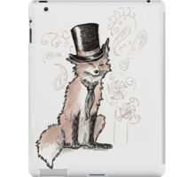 Mr. Fancy Fox iPad Case/Skin