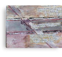 Untitled No6:   'Our Precious Earth' series Canvas Print
