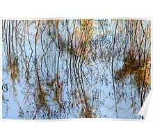 San Luis Rey River Abstract Poster