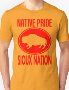 NATIVE PRIDE-SIOUX NATION Unisex T-Shirt
