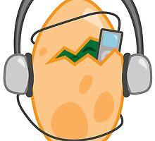 Rockin Dino Egg by lilsponges