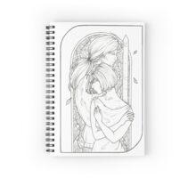 Lovers - Tarot Card Spiral Notebook