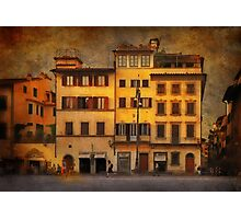 Somewhere in Florence Photographic Print