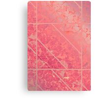 Pink Marble texture Canvas Print