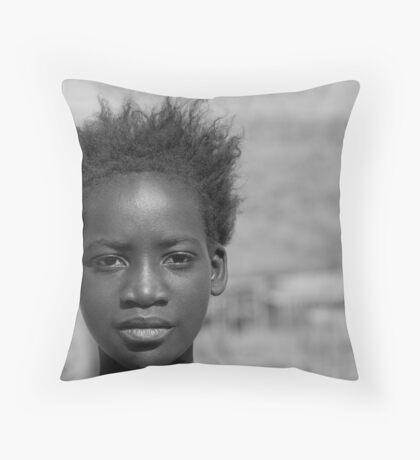 Township girl Throw Pillow