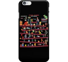 1980s Arcade Heroes iPhone Case/Skin