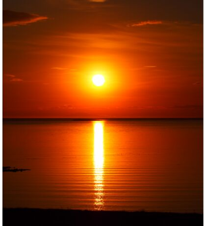 Sun set , Sticker