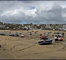 """ The storm hits St Ives"" by Malcolm Chant"
