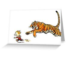 hobbes more real Greeting Card