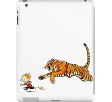 hobbes more real iPad Case/Skin