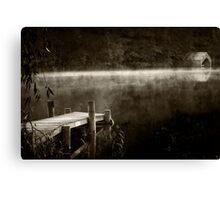 Loch Ard Mono Canvas Print